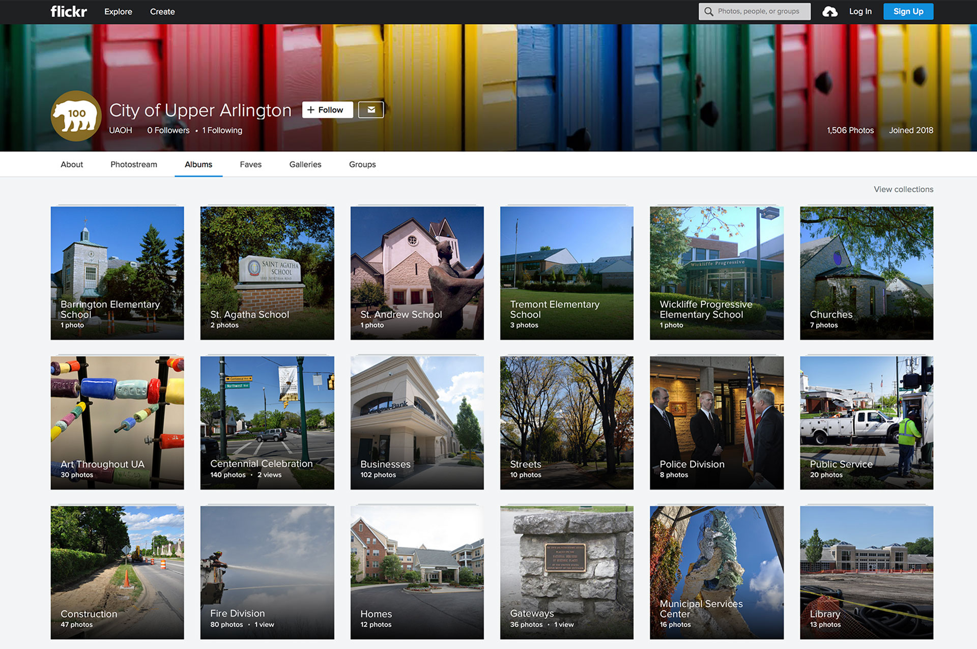 UA Flickr Account To Share Photo Favorites