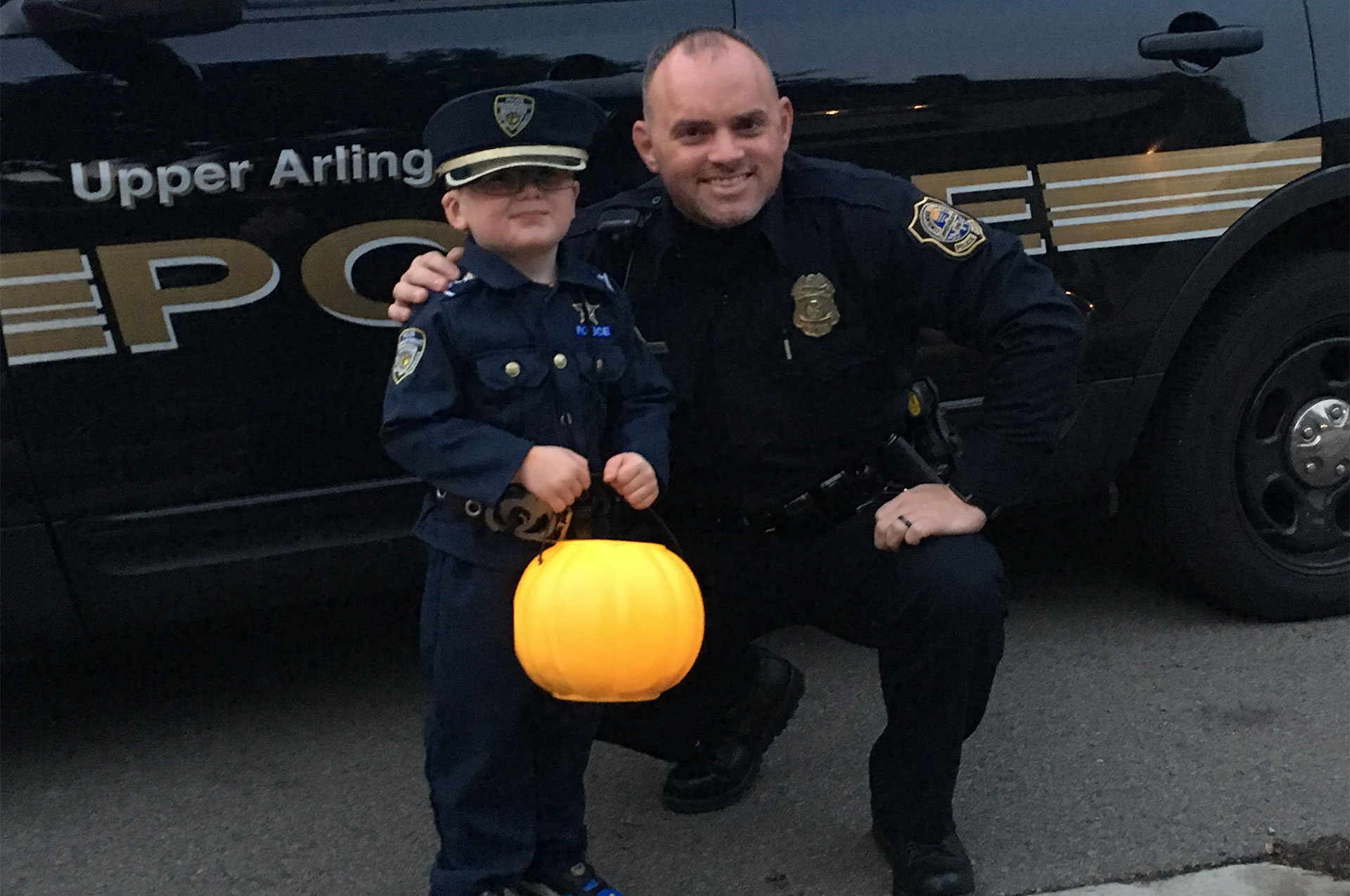 Pumpkin Patrol Officer Goodman