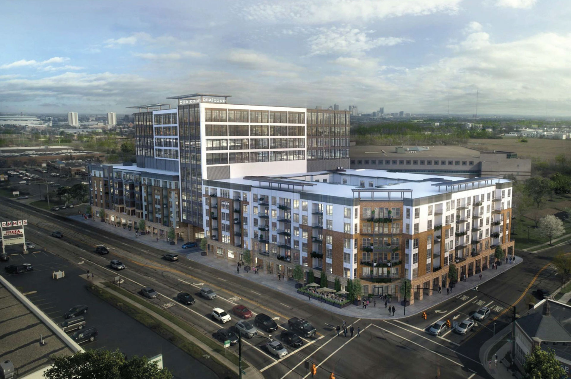 Arlington Gateway Project NW Overview