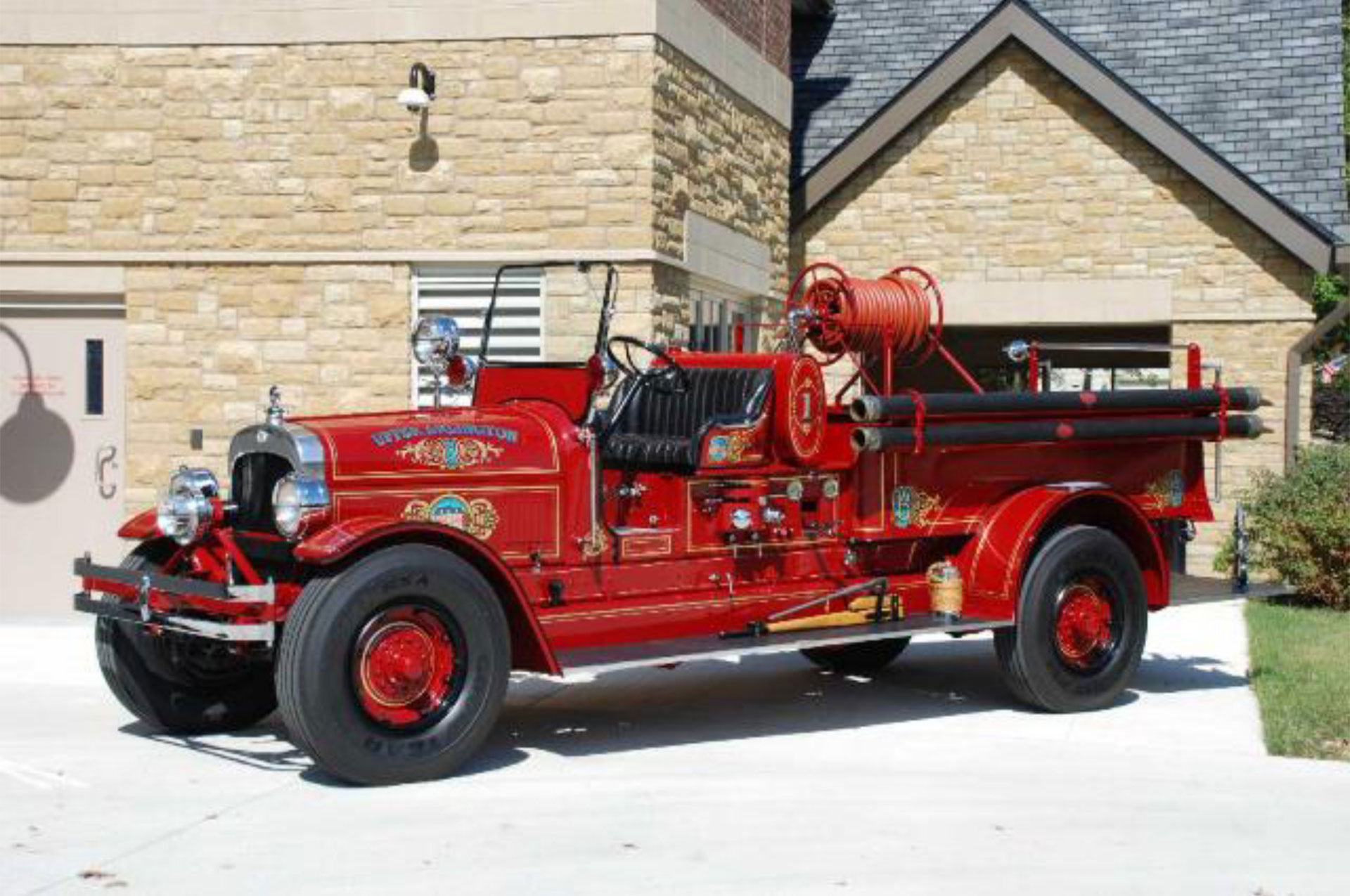 Engine 1 Restored