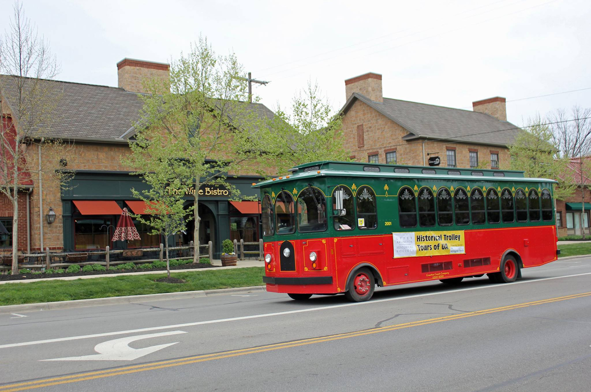 Historical Society Trolley Tour