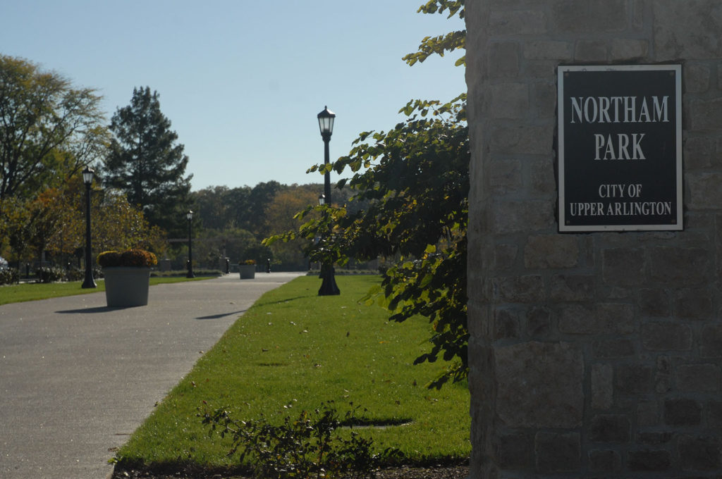 Northam Park Entrance