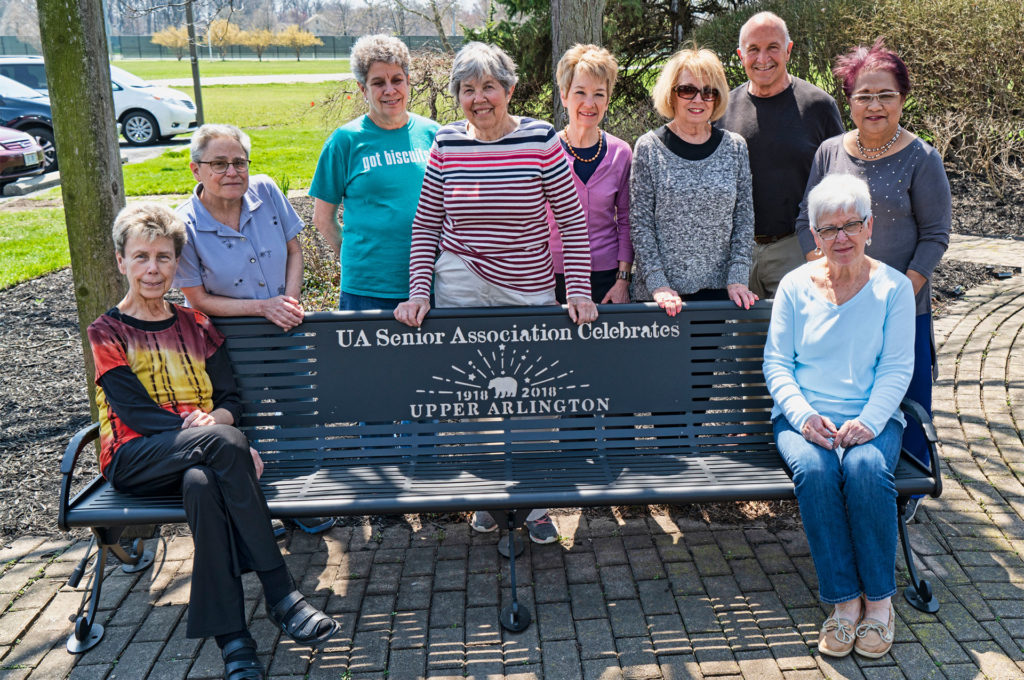 Senior Center Centennial Bench