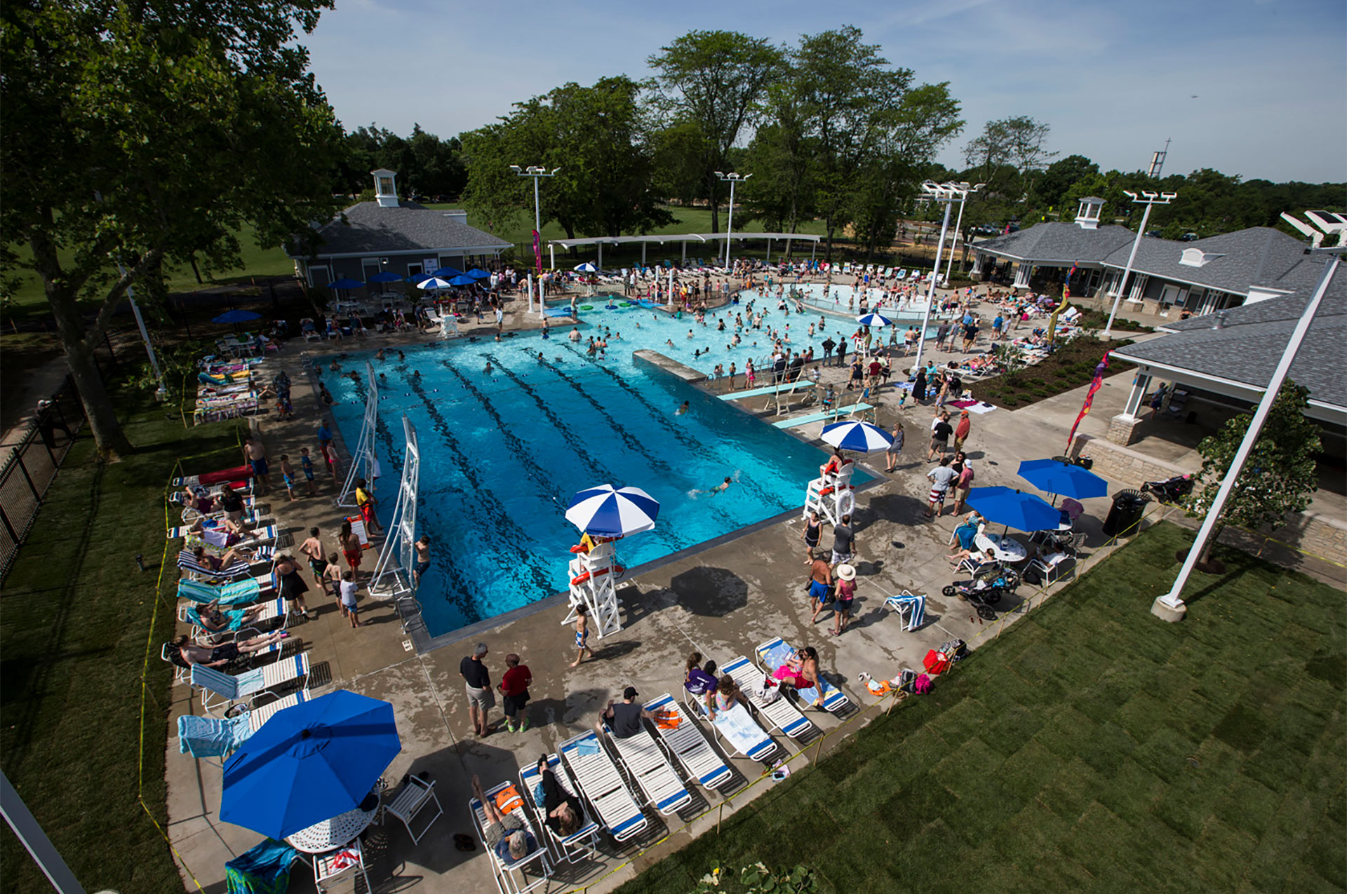 Tremont Pool Overhead