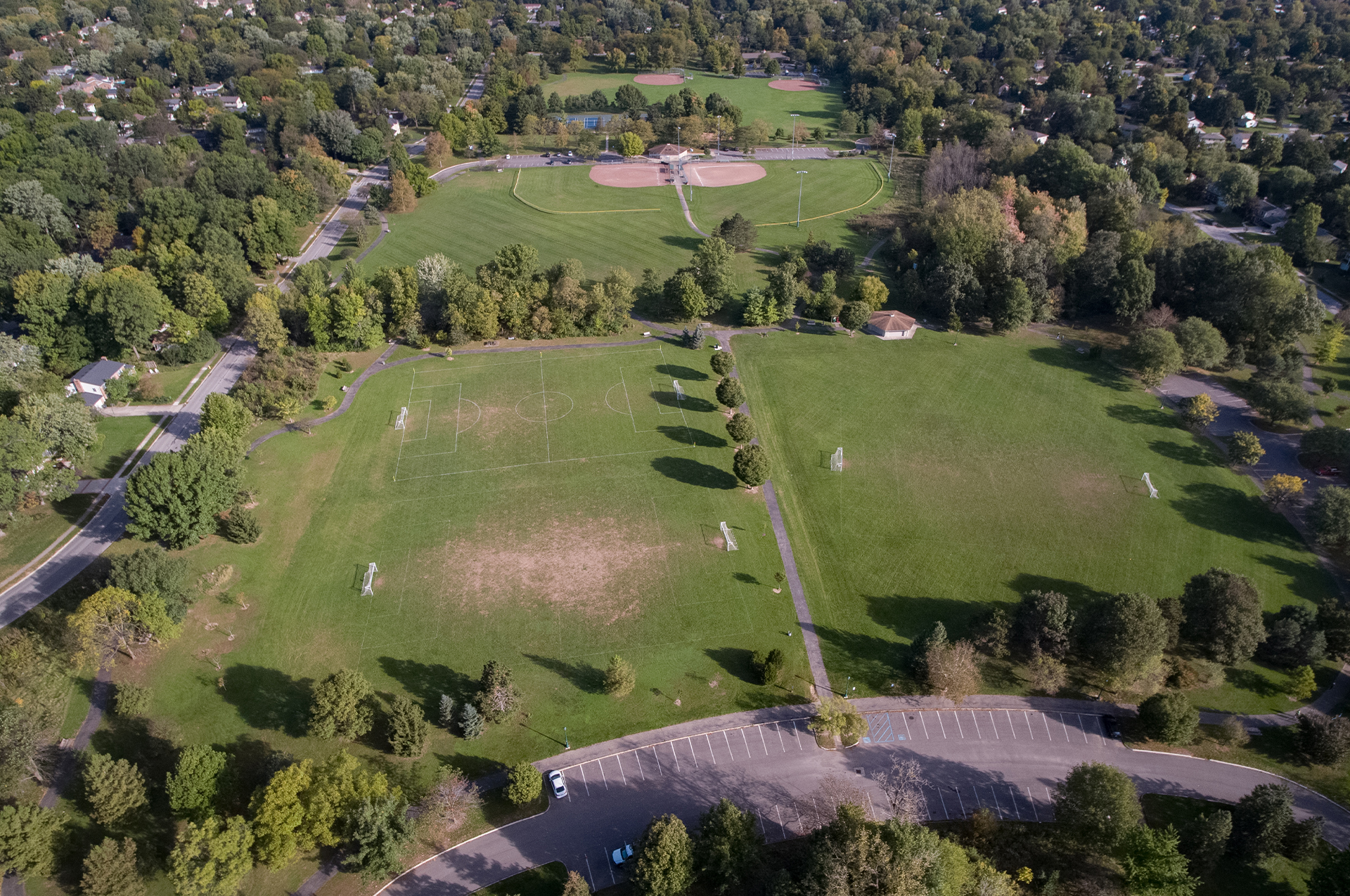 Upper Arlington Parks Field Usage